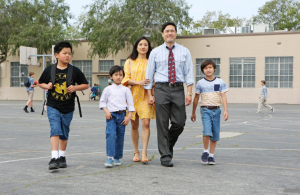 The Huangs. (@FreshOffABC/Twitter)